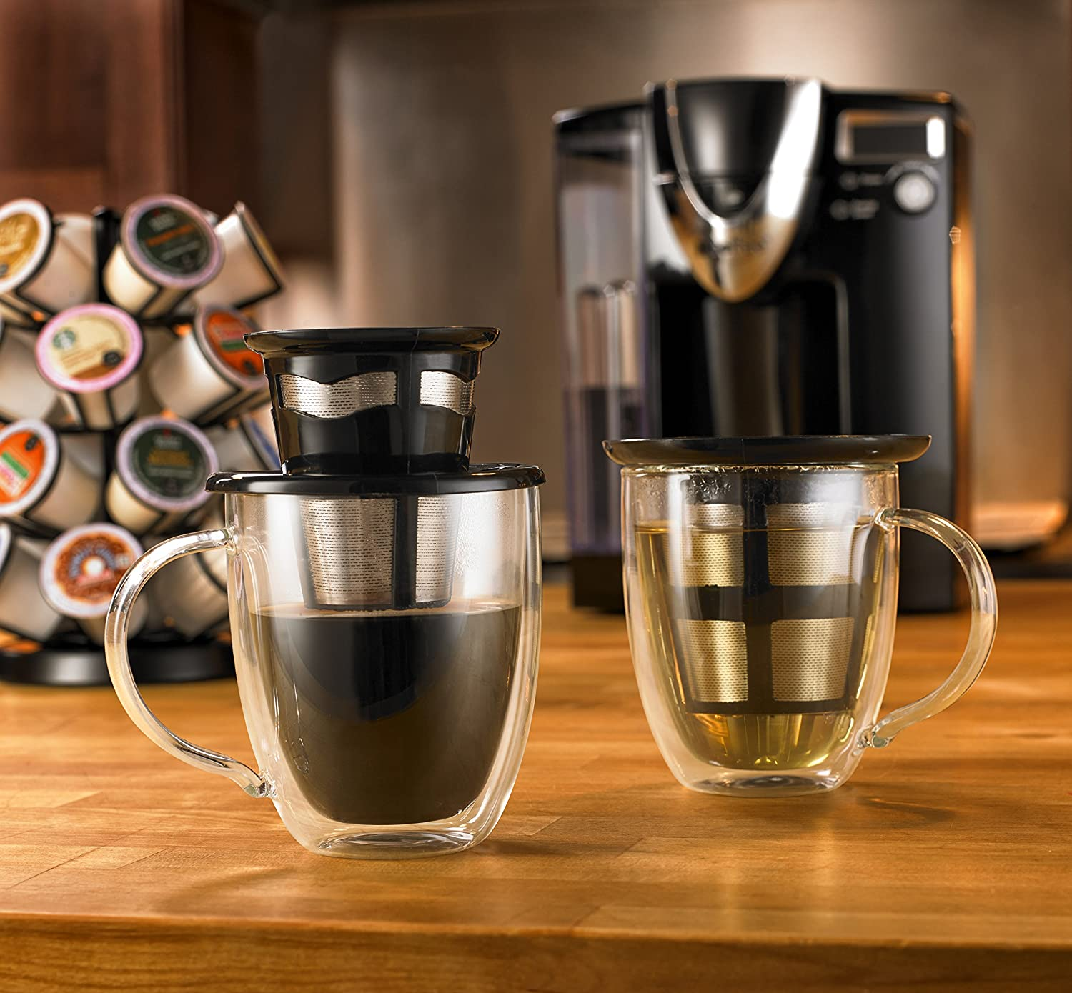 Java Concepts Stainless Reusable Pod for All K-Cup Brewers Vision Home Products Inc 16202
