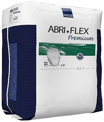 Abena 41070 Abri Flex 1 Premium - Ropa interior absorbente, talla XS