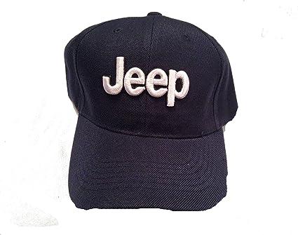 Jeep Baseball Hat//Cap-Blue