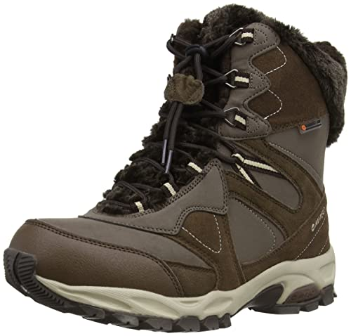 Hi-Tec Fusion Thermo 200 Mid Waterproof, Women's Hiking Boots,  Chocolate/Taupe