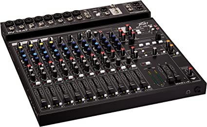 Ideal for Live Shows Recording Podcasting Ships FREE to USA Peavey PV 6 Mixer