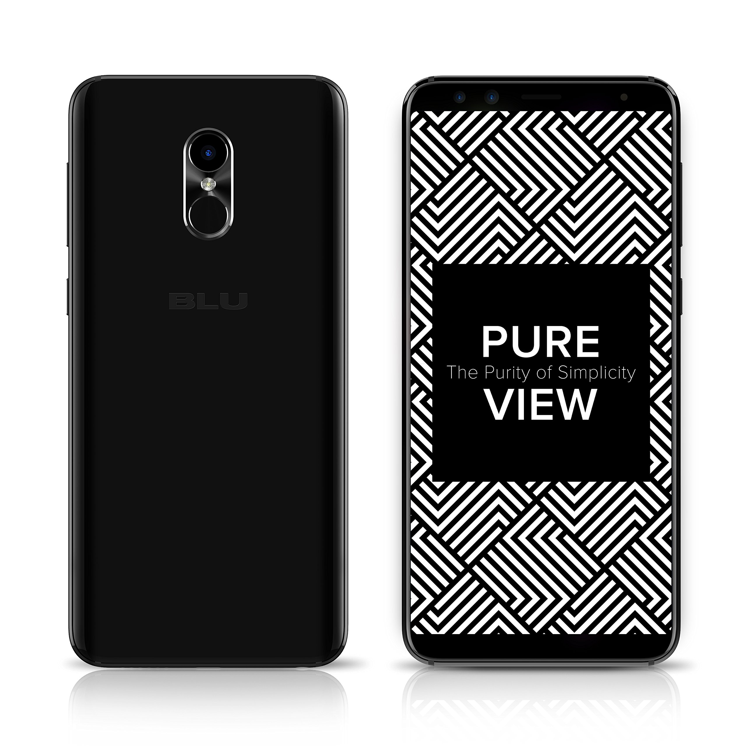 Skinomi Brushed Steel Full Body Skin Compatible with BLU Studio Mega TechSkin with Anti-Bubble Clear Film Screen Protector Full Coverage 2018