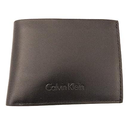 Calvin Klein - Cartera para hombre Negro Negro