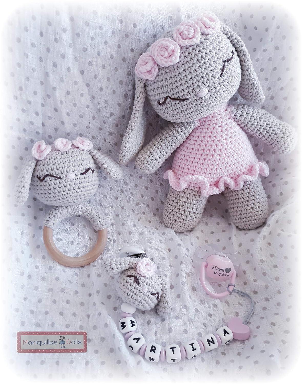 Sonajero/Mordedor Crochet: Amazon.es: Handmade
