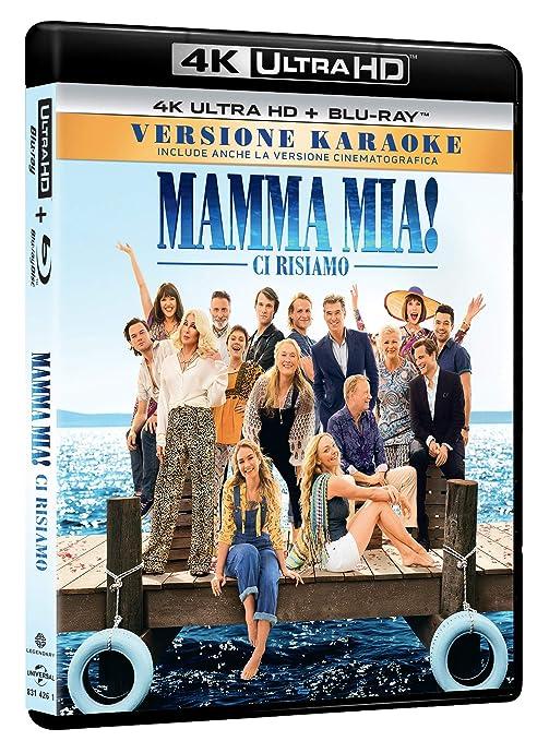 Mamma Mia! Ci Risiamo Blu-Ray 4K Ultra HD+Blu-Ray Italia Blu-ray ...