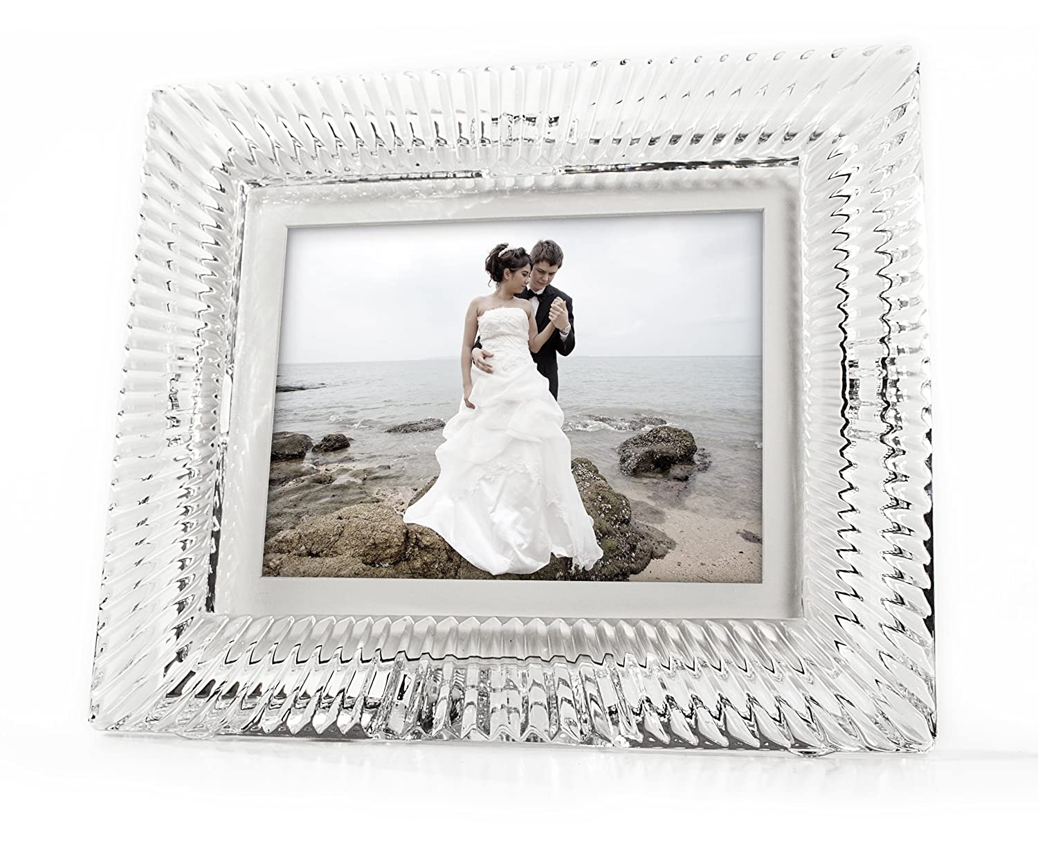 Amazon waterford crystal digital photo frame 8 inch home amazon waterford crystal digital photo frame 8 inch home kitchen jeuxipadfo Images