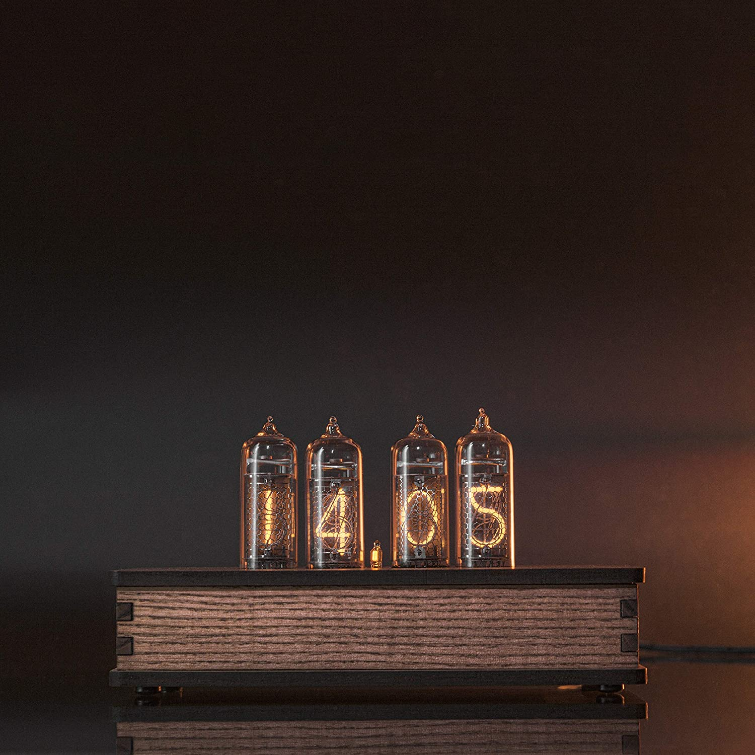 Nixie Tube Clock with Easy Replaceable IN-14 Nixie Tubes - Motion Sensor - Visual Effects - Perfect Gift Idea