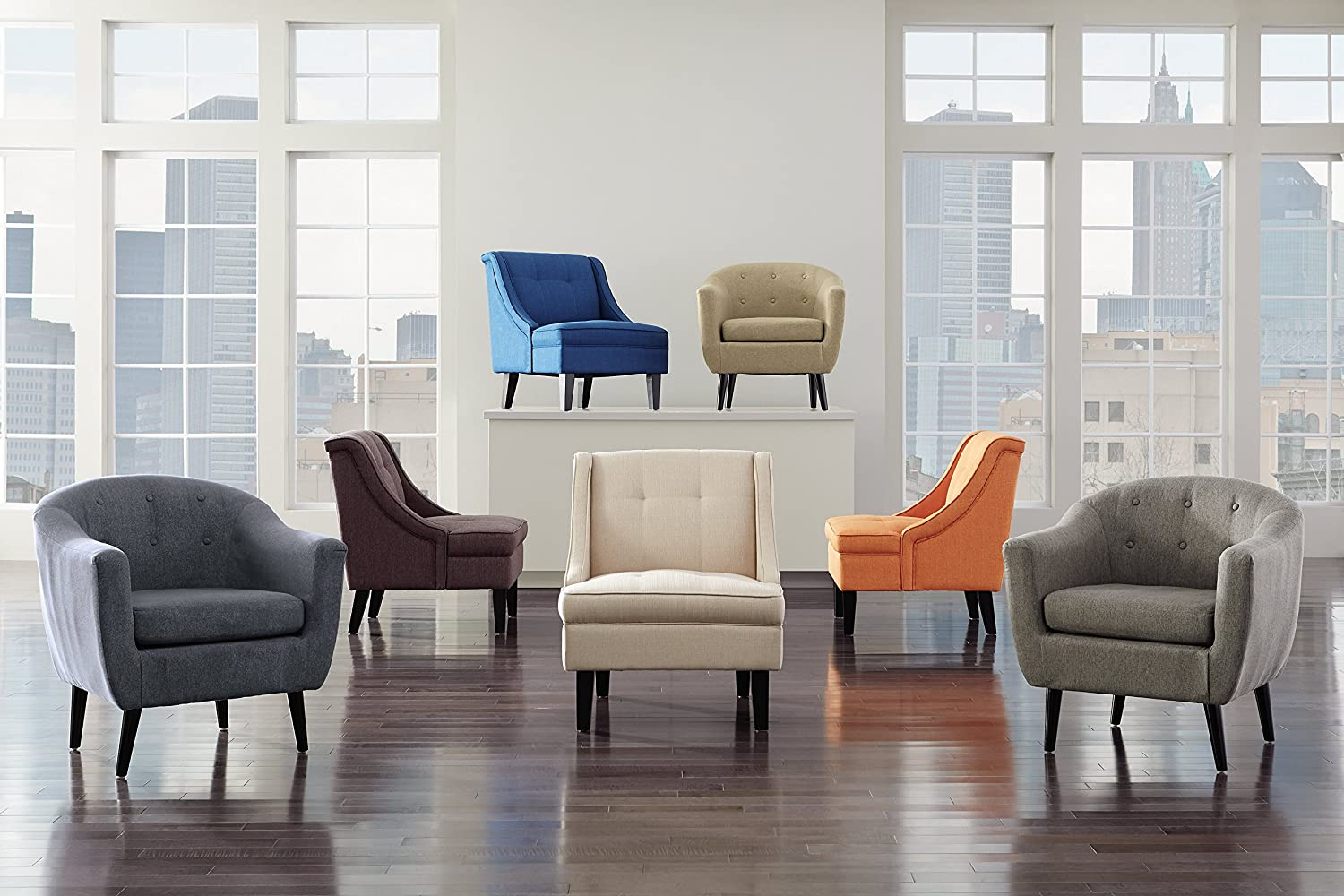 Signature Design by Ashley Clarinda Accent Wingback Chair