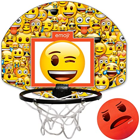 Emoji Interior Mini Juego de Baloncesto, Color Rojo: Amazon.es ...