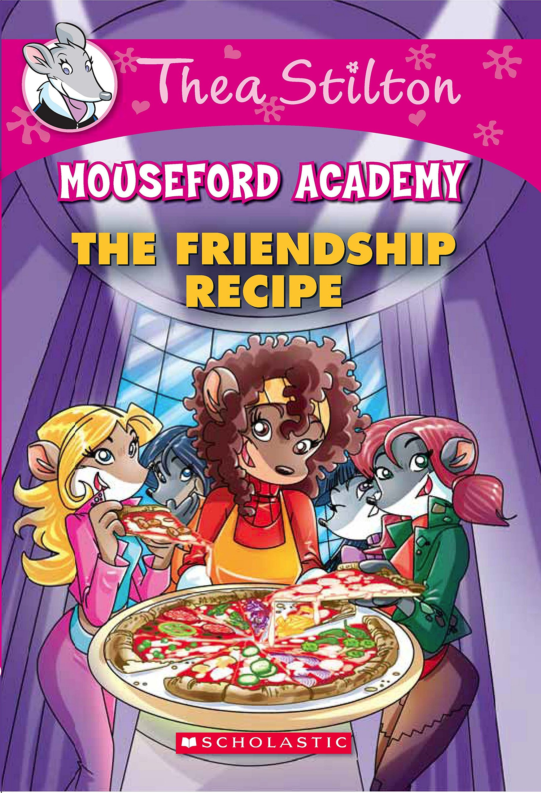 Buy Thea Stilton Mouseford Academy 15 The Friendship Recipe Book Online At Low Prices In India Thea Stilton Mouseford Academy 15 The Friendship Recipe Reviews Ratings Amazon In