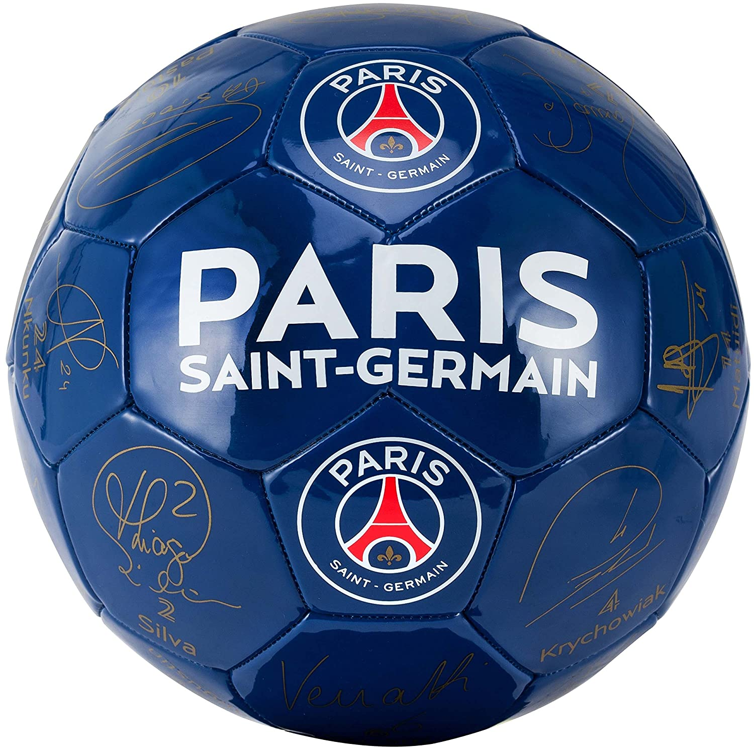 PSG Ball Players' Signatures – Paris Saint Germain ...