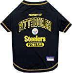 Pets First Pittsburgh Steelers T-Shirt, Medium