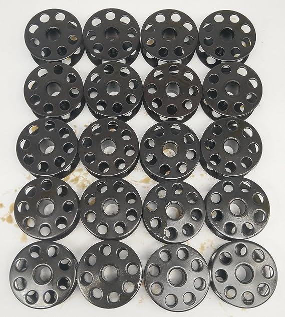honeysew M tama/ño bobinas 20pcs para m/áquina de coser Industrial # 18034