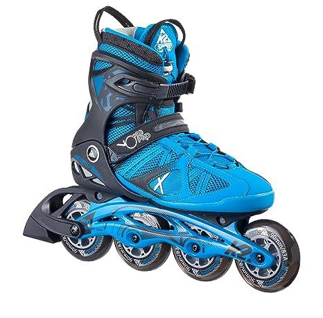 ce66790d06b12b K2 Herren Inline Skates VO2 90 Pro M - Schwarz-Blau - 30A0007.1.1 ...