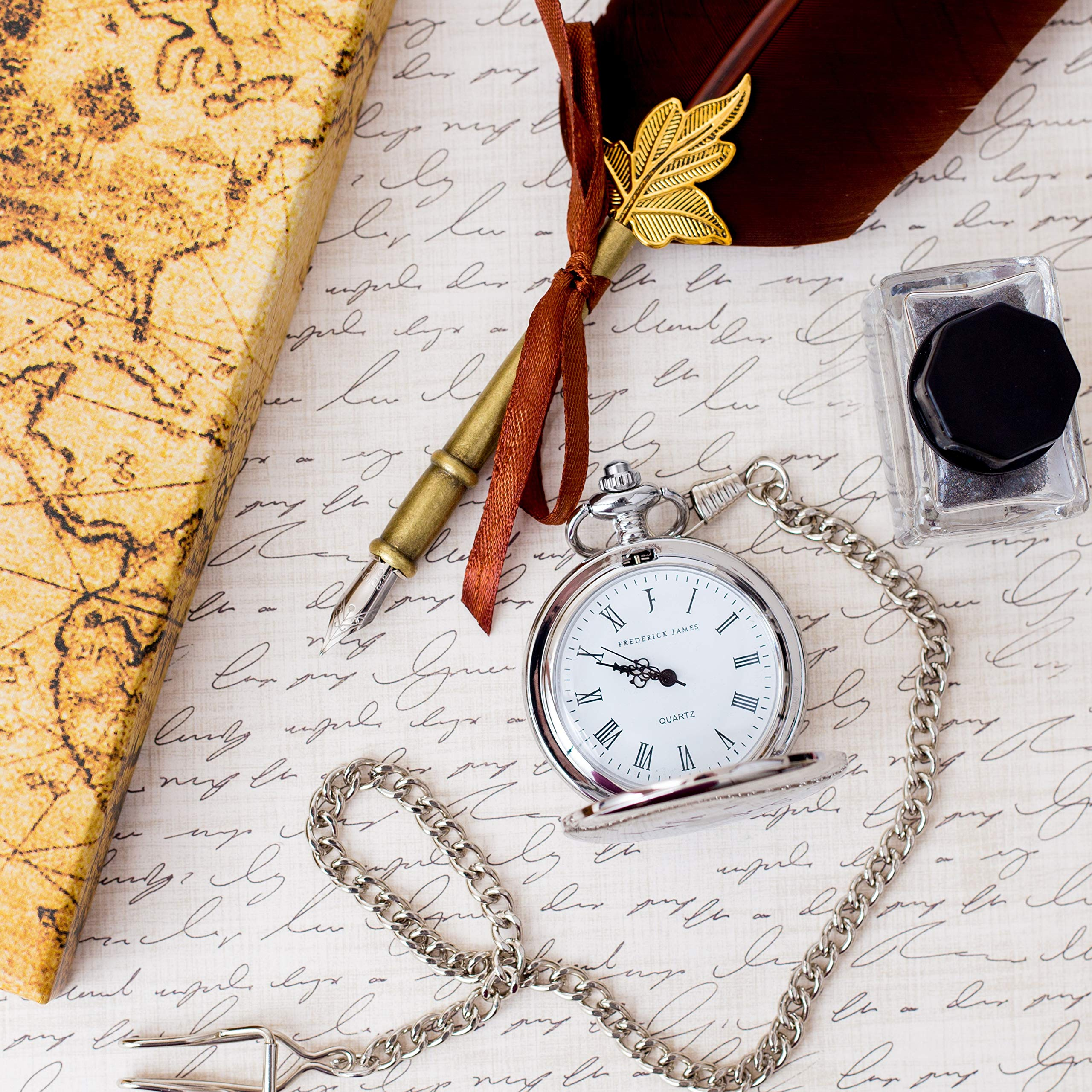 Graduation Gifts for Him - Pocket Watch - Engraved 'Class of 2019' - Perfect College / High School Graduation Gift or Present for Son | Him in 2019 by FREDERICK JAMES (Image #7)