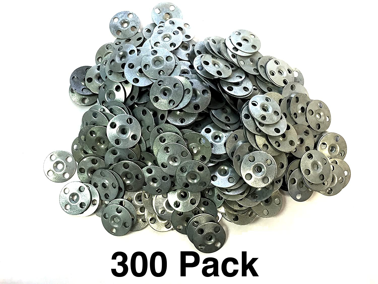 "1/"" One Inch Plaster Zinc Repair Washers Ceiling Buttons 300 pieces"
