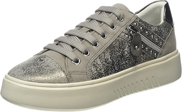 Geox D Nhenbus F, Sneakers Basses Femme