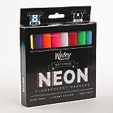 Amazon.com : Set of 12 Liquid Chalk Neon Markers for Write