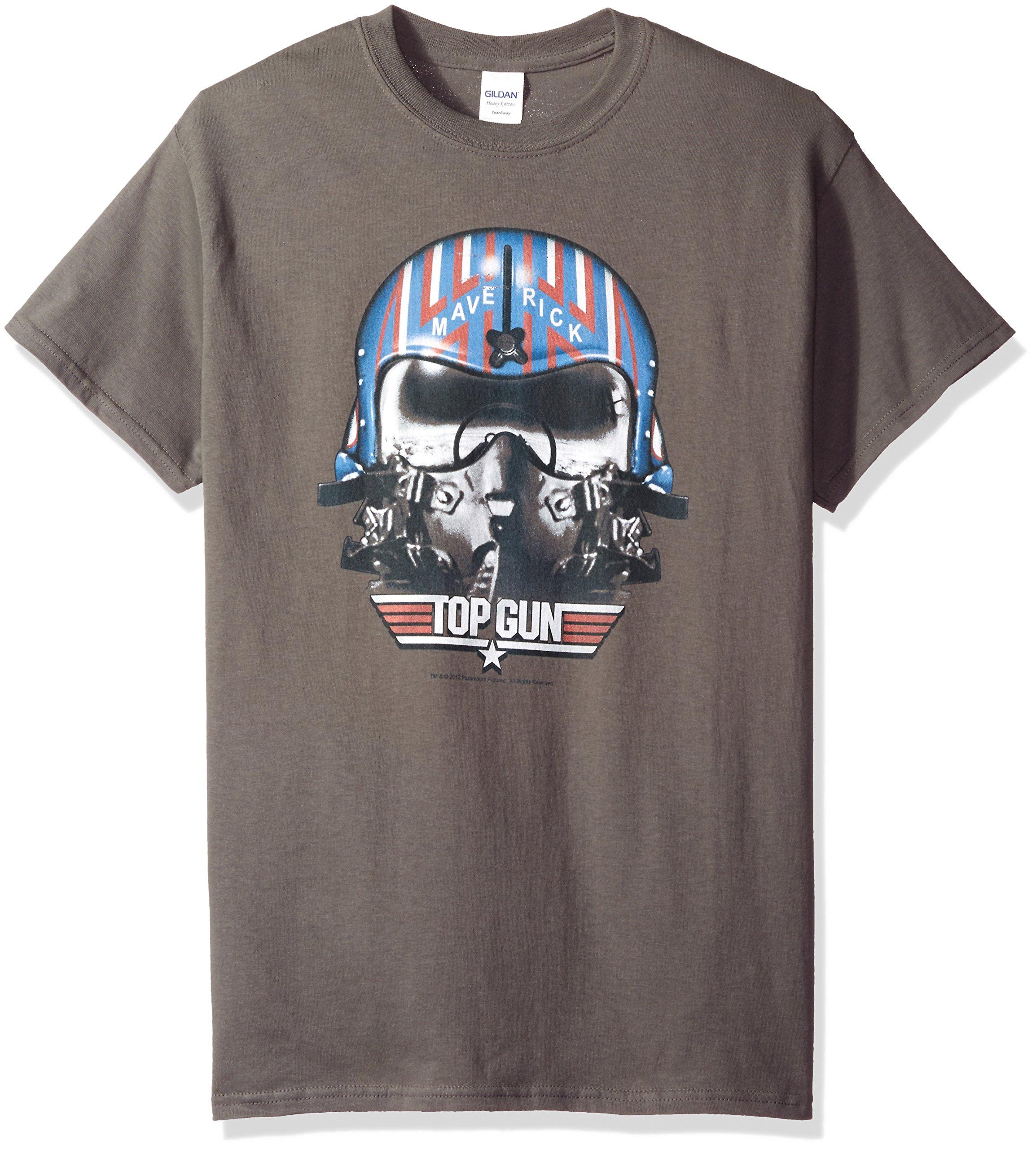 Top Gun S Maverick Helmet Tshirt Charcoal