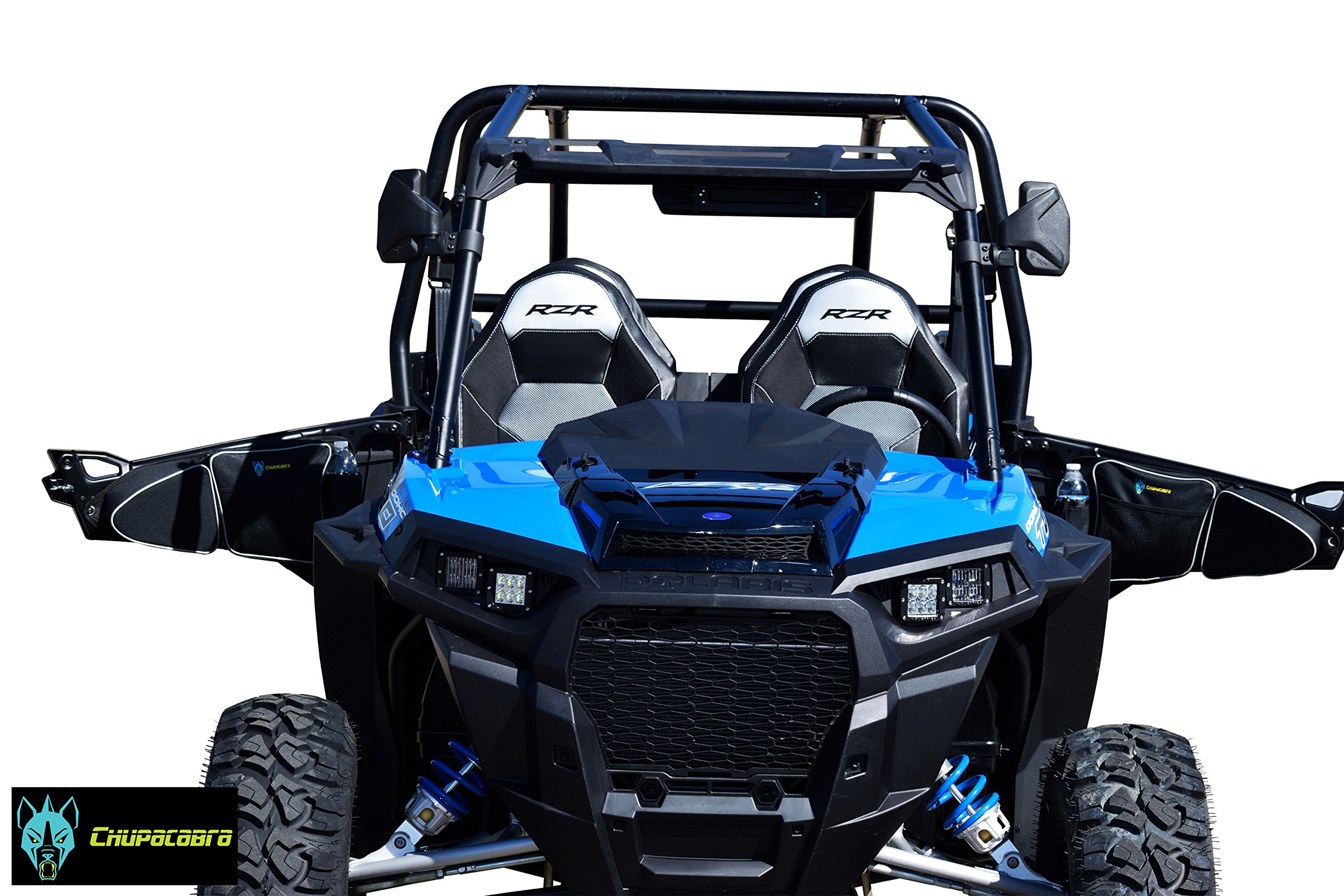 Chupacabra Offroad Door Bags RZR Turbo 1000 900S Passenger and Driver Side Storage Bag by Chupacabra Offroad (Image #5)