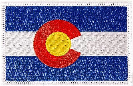 Parche de bandera de Colorado para planchar o coser, estilo táctico, mochila para sombreros: Amazon.es: Juguetes y juegos
