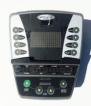 Matriz Fitness E5 X C U5 X R5 X elíptica bicicleta consola de control panel de la