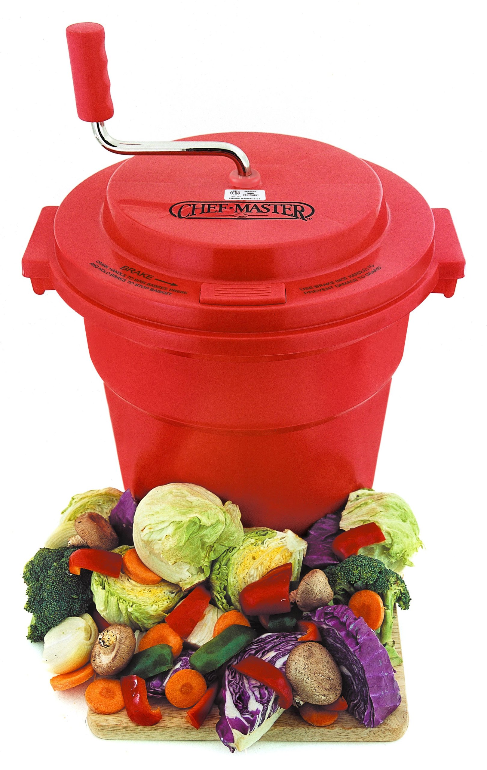 Chef-Master Commercial 5-Gallon Salad Dryer by Chef-Master