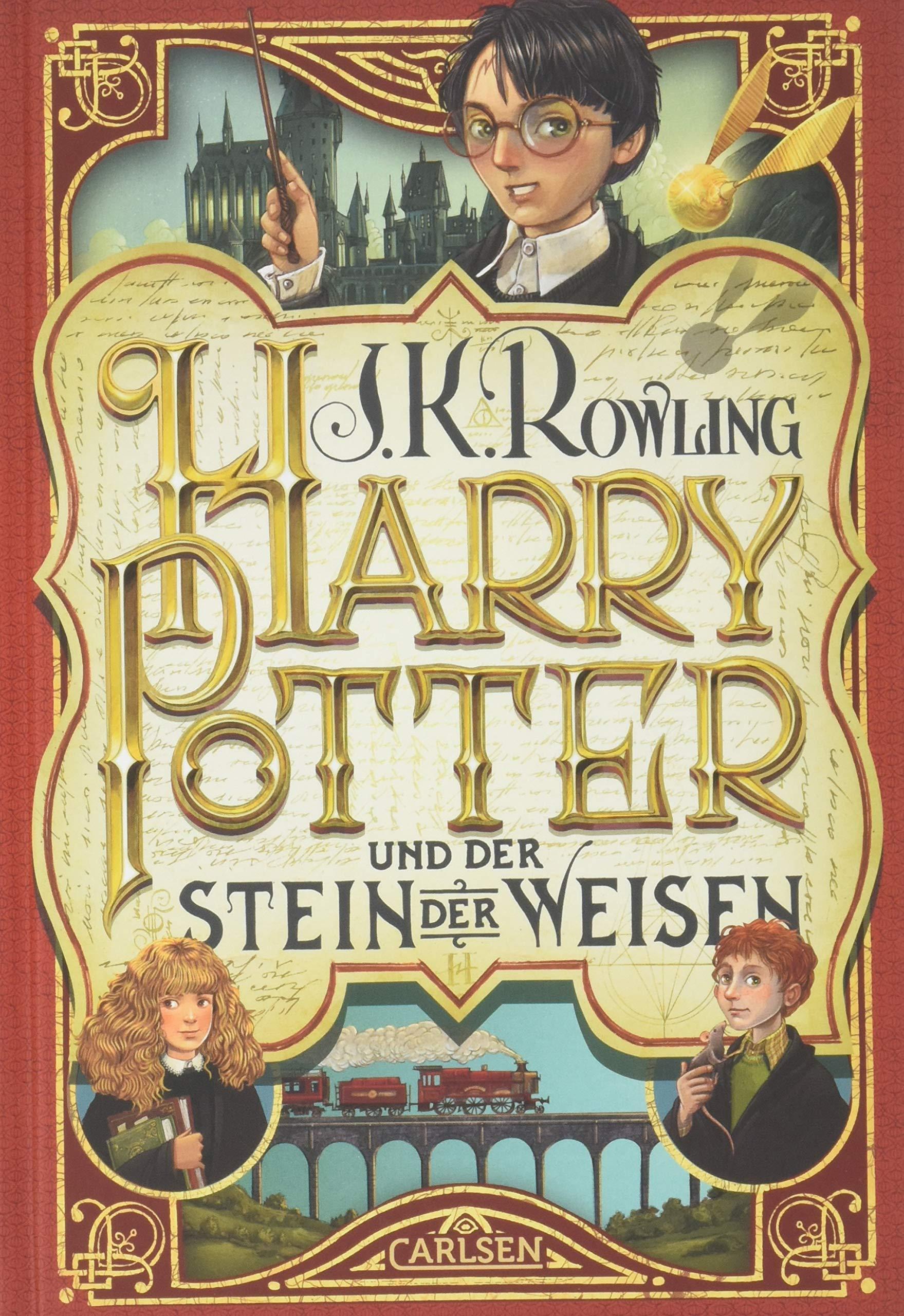 Harry Potter 1 und der Stein der Weisen: Amazon.es: J. K. Rowling, Klaus  Fritz: Libros en idiomas extranjeros
