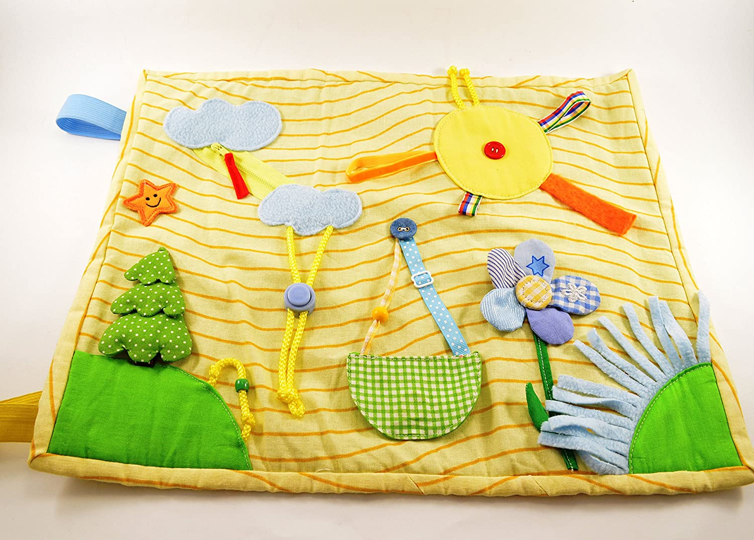 Quiet book Play mat Travel baby toy Buckle toy Waldorf toy Busy book Montessori toys Activity book Sensory blanket Toddler toy Baby gift