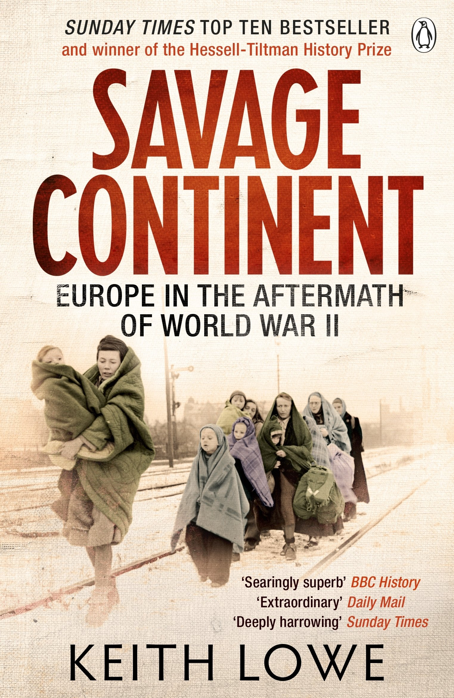 amazon savage continent europe in the aftermath of world war ii