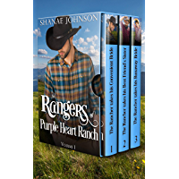 The Rangers of Purple Heart Ranch Volume One: Three Sweet Marriage of Convenience Western Romances