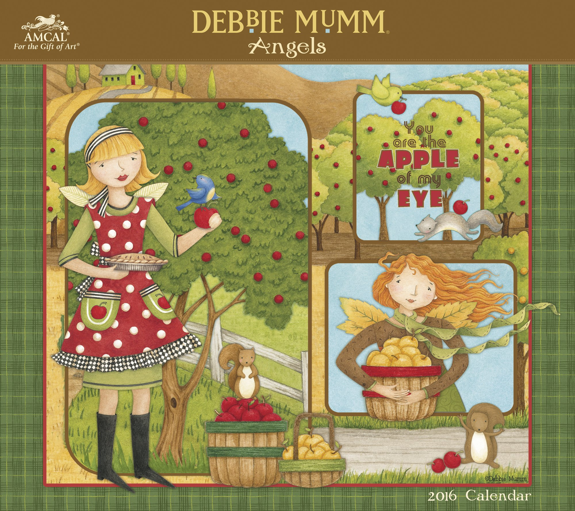 Debbie Mumm - Angels Wall Calendar (2016): AMCAL: 9781629053622 ...