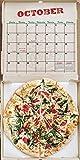 Pizza 2019 Wall Calendar
