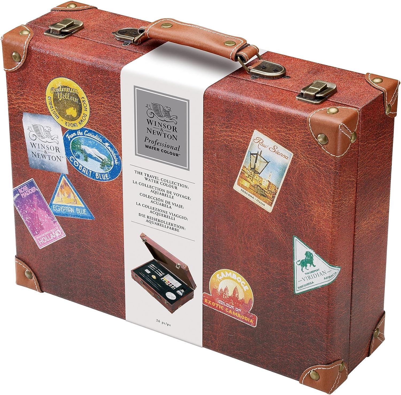 Winsor Newton Juego Maletín Acuarela 0190558 Viaje Colección ...