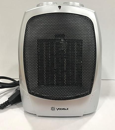 VOOMAX Mini Calefactor Eléctrico, Portatil Calefactor Ventilador ...