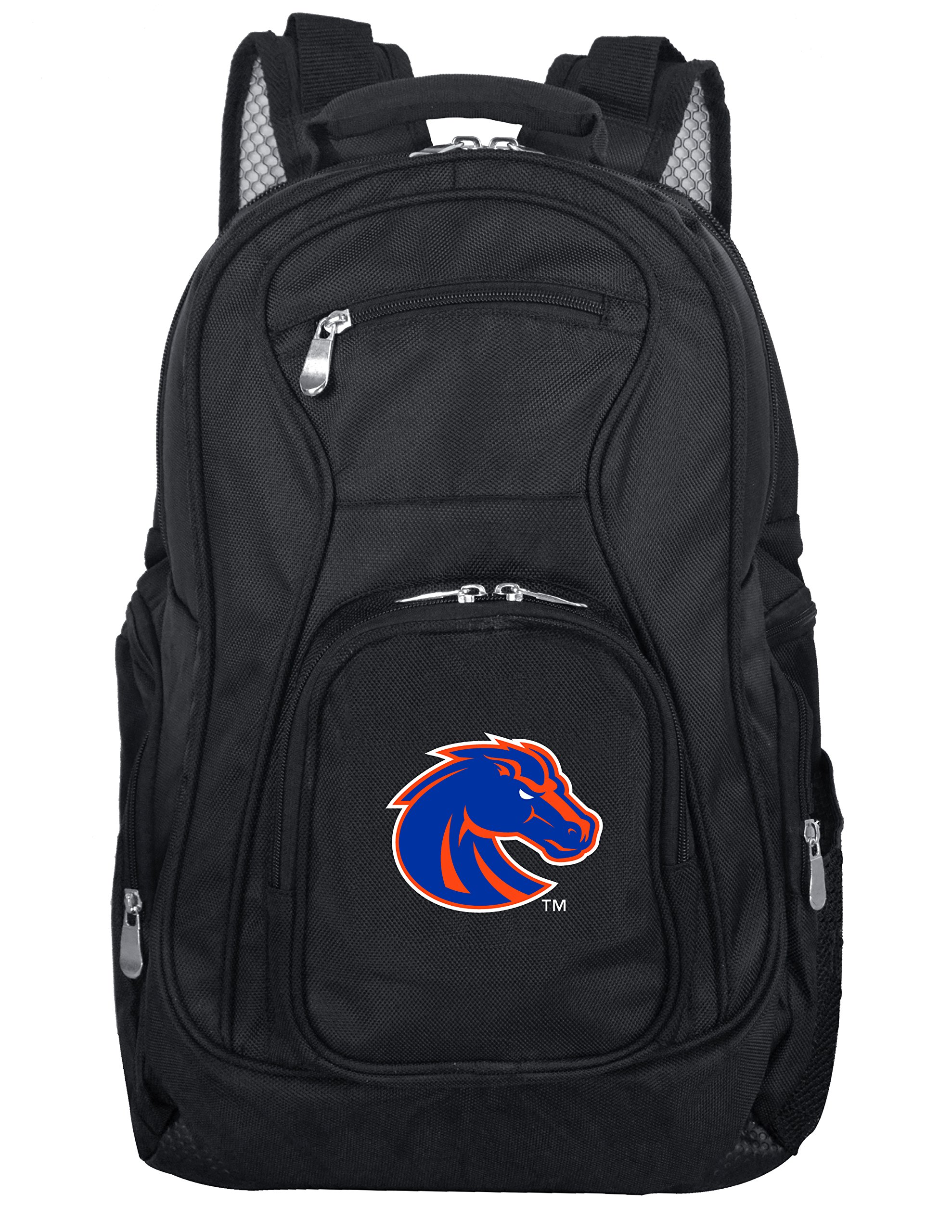 Denco NCAA Boise State Broncos Voyager Laptop Backpack, 19-inches, Black