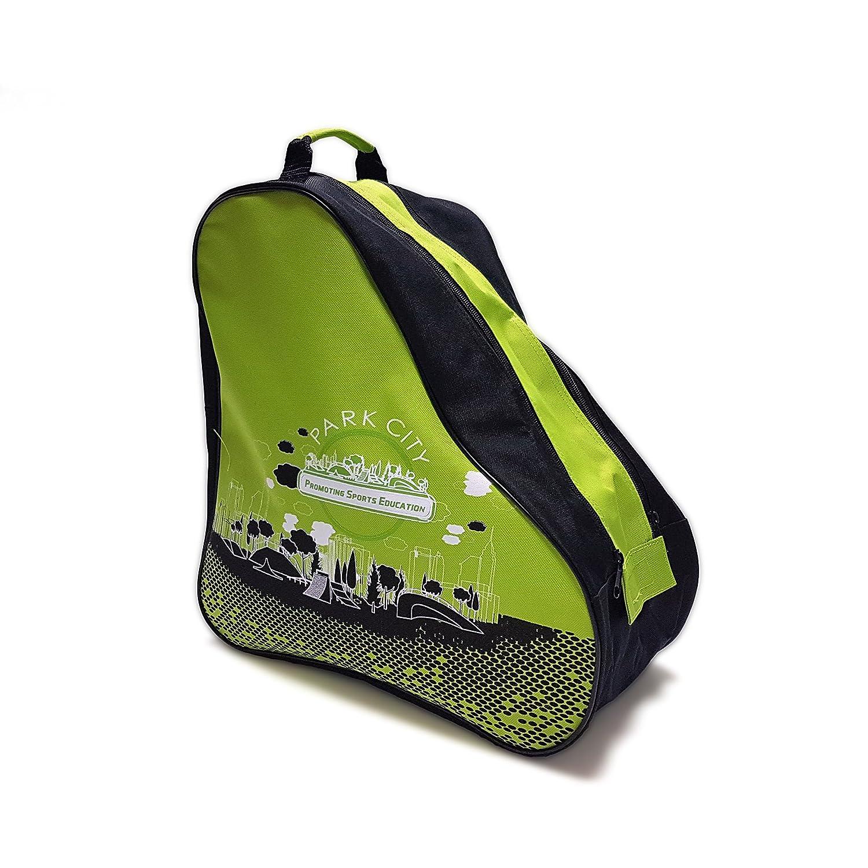 Park City 0017019VD Bolsas para Patines, Infantil, Verde, Talla Única KRF The New Urban Concept