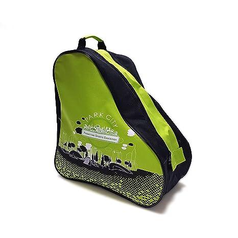 Park City 0017019VD Bolsas para Patines, Infantil, Verde, Talla Única