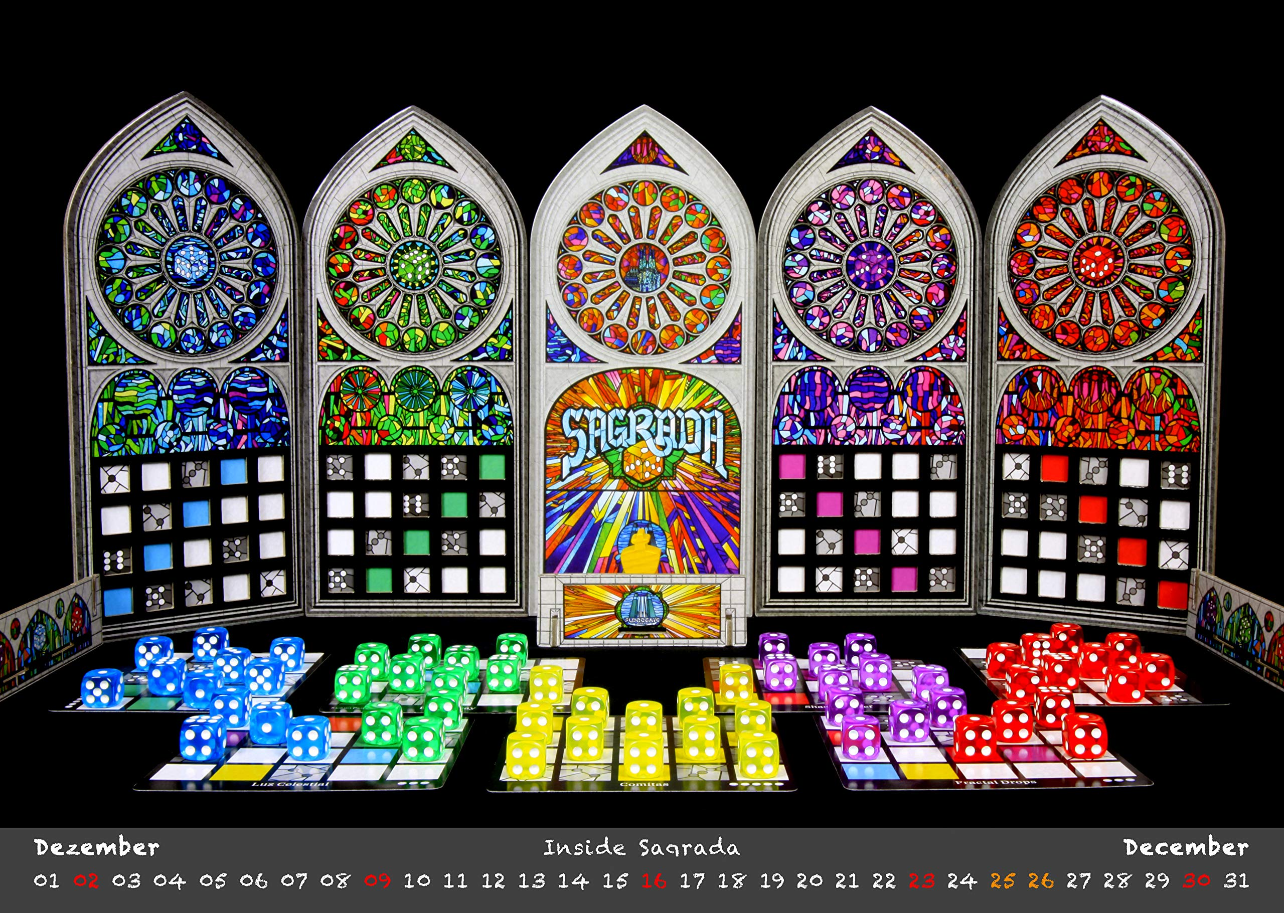 Sagrada Board Game - Family or Adult Strategy Game for 1 to 4 Players giá  tốt nhất 2020 | FPT Shop