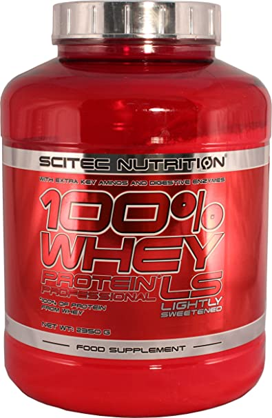 Scitec Whey Protein Profesional Lightly Sweetened 2350g Chocolate