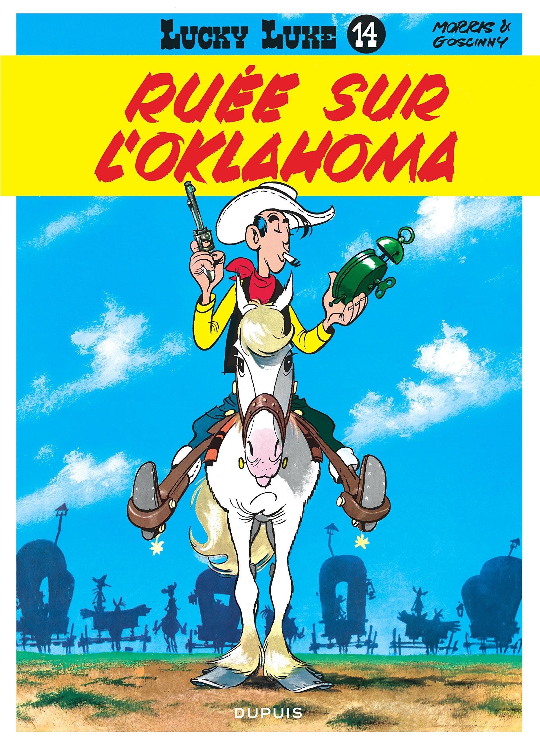 Lucky Luke, tome 14 : Ruée sur l'Oklahoma Album – 14 septembre 1988 Morris René Goscinny Dupuis 2800114541