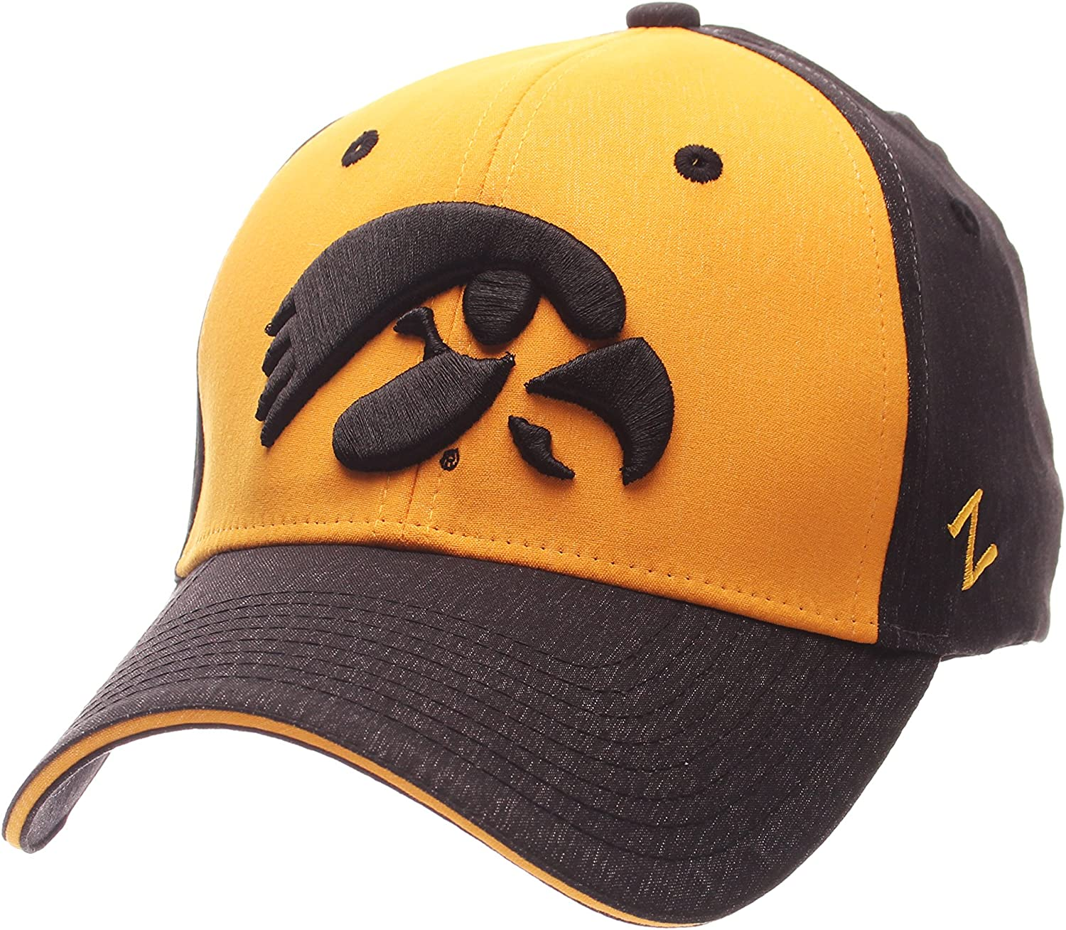 Youth One Size Team color NCAA LSU Tigers Youth Outerstuff Velocity Structured Flex Fitted Hat