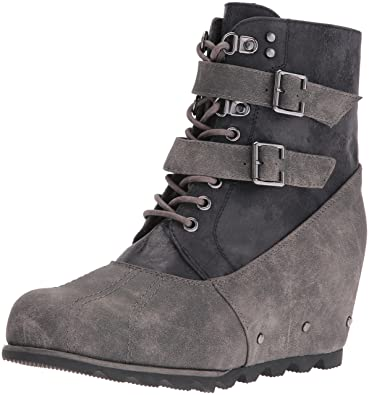 Not Rated Women's Hermione Ankle Bootie, Charcoal, ...