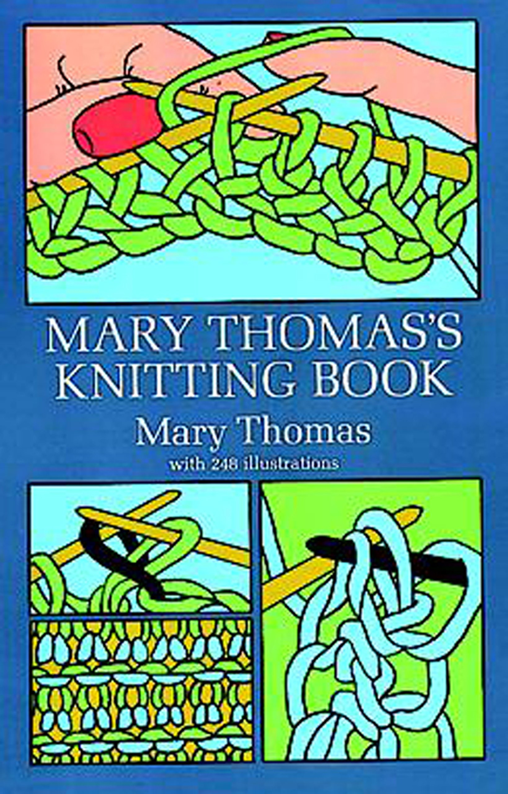 Mary Thomass Knitting Book Thomas