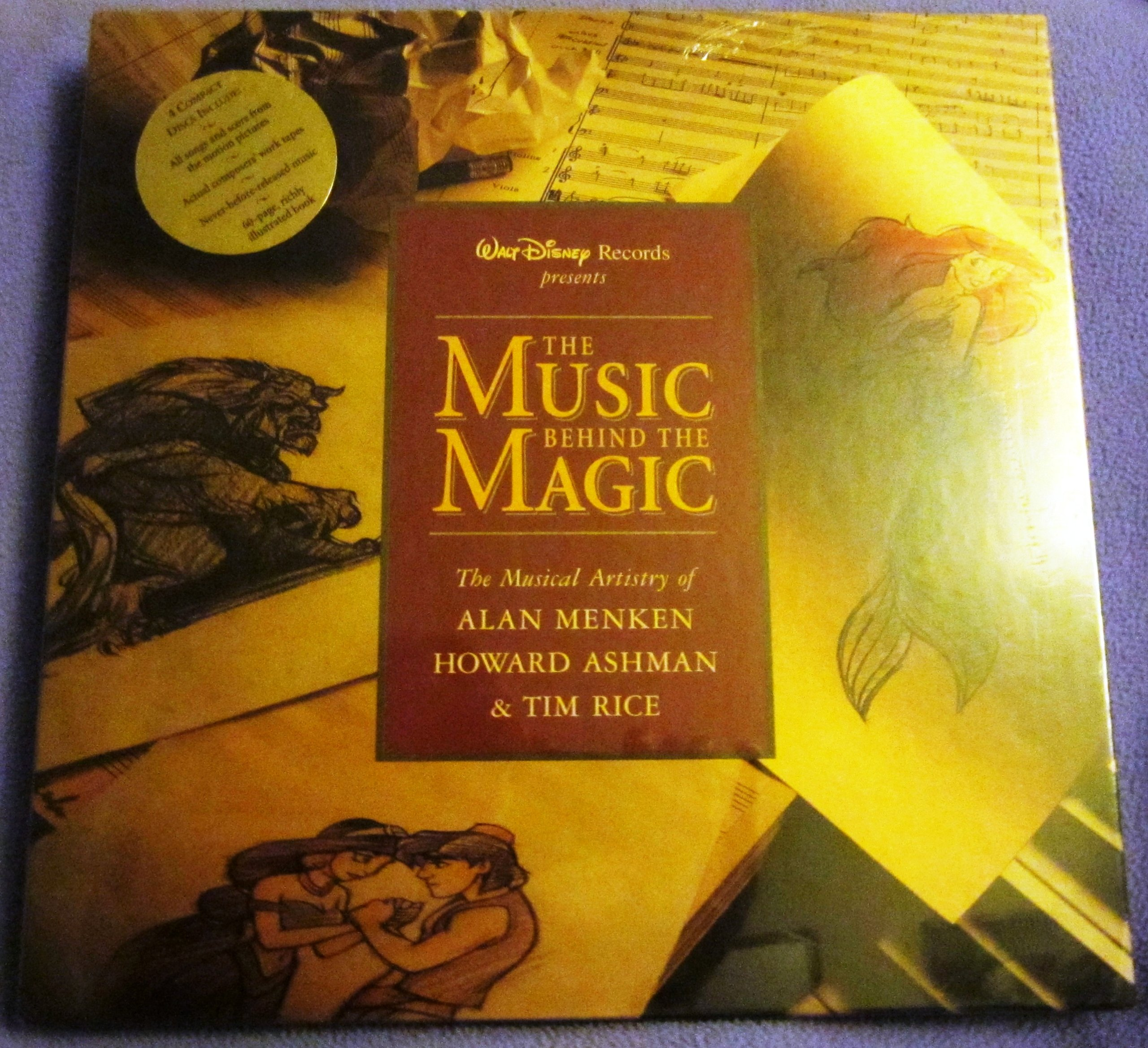 The Music Behind the Magic: The Musical Artistry of Alan Menken,  Howard Ashman, and Tim Rice. by Walt Disney Records