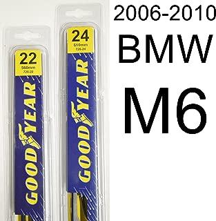"product image for BMW M6 (2006-2010) Wiper Blade Kit - Set Includes 24"" (Driver Side), 22"" (Passenger Side) (2 Blades Total)"