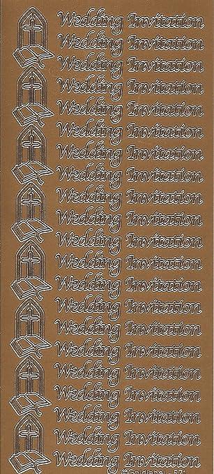 Kupfer Farbe Hochzeit Einladung Etc. Abziehen, Aufkleber, Für Karten,  Basteln, Matten