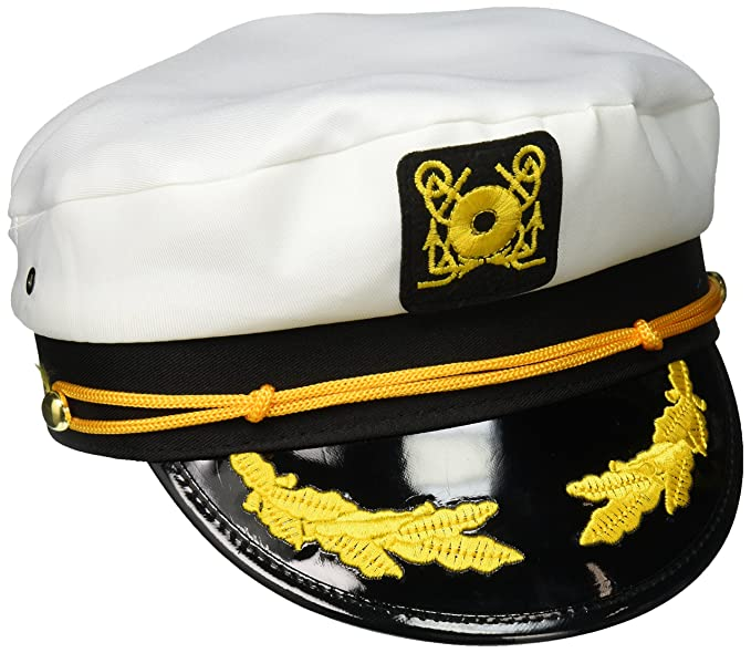 Amazon.com  Jacobson Hat Company Men s Adult Yacht Cap 32b7052b7c25