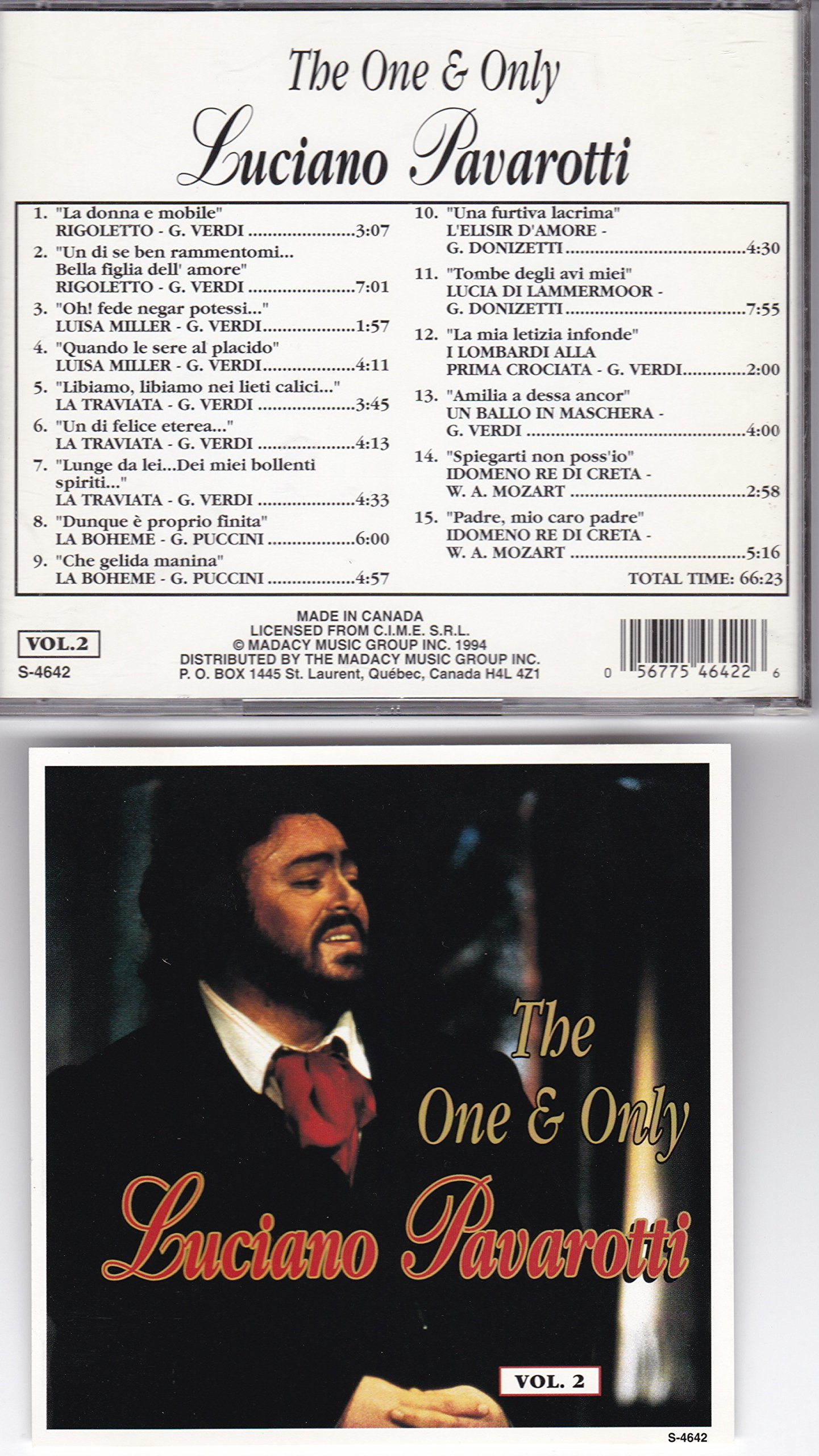 The One & Only Luciano Pavarotti (Vol. 2)