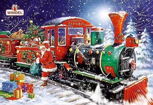 Windel Weihnachtskalender.Windel Adventskalender Schokoladentäfelchen Weihnachten 170g